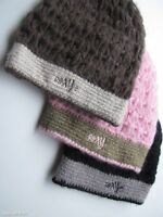 new ROXY Ladies GIRLS HAT CAP BEANIE Knit Knitwear PINK - OLIVE