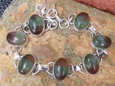 925 Argento Braccialetto Multi FLUORITE silverandsoul handcrafted gioielli
