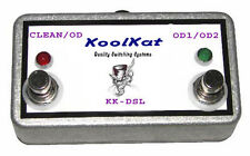 KoolKat Switches 2 button Footswitch for Marshall JCM2000 DSL401