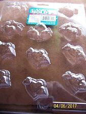Plastic Chocolate Candy Mold Hearts with Doves & Hearts  New