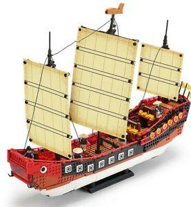 Xingbao XB-25001  Cantonese Galleon Sailboat Ship Building Block Set 1892 pieces