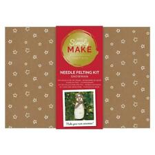 Simply Make Snowman Needle Felting Craft Kit -  Christmas Xmas Decoration