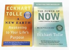 Eckhart Tolle - 2 Book Lot - A New Earth and The Power of Now - Gently Read