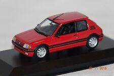 Peugeot 205 GTI 1990 rot 1:43 MaXichamps neu & OVP 940112300