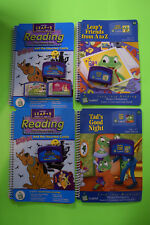 Leapster Leap Frog Lot 2x Scooby Doo Tad's Good Night Friends From A-Z & More