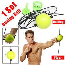 US Boxing Ball Double Suction End Floor to Ceiling Speed Ball Dodge Punch Bag