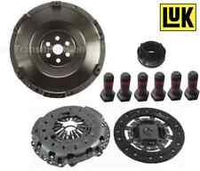 SOLID FLYWHEEL & LUK  CLUTCH FITS FOR FORD TRANSIT 2.3 MK7 2006 ON LPG / PETROL