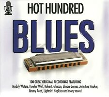 HOT HUNDRED BLUES - 4 CD BOX SET - 100 GREAT ORIGINAL RECORDINGS
