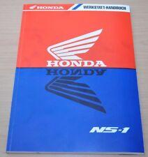 Honda NS1 Motor Bremsen Anlasser Elektrik Wartung Kupplung Werkstatthandbuch