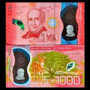 Costa Rica Banknote 1000 Colones 2019-2021 - Polimer - UNC
