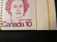 "CANADA STAMPS  #BK76b+c MINT 1976 ""CARICATURE ISSUE"" REPEAT/DOUBLING UNDER 10"