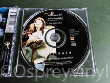 Kate Bush Rubberband Girl MINT picture disc Cd single with new case