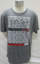 Ronda Rousey Reebok UFC Men Large 34 Seconds Shirt
