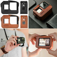 Shockproof Camera Case Hand Portable PU Leather Bag Cover Pouch for GoPro Hero 8