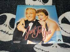 Just For You NEW SEALED Laserdisc LD Bing Crosby Jane Wyman Free Ship $30 Orders