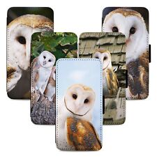 Stunning Barn Owls Flip Phone Case Cover Wallet - Fits Iphone 5 6 7 8 X 11