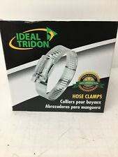 #56 STAINLESS STEEL USA MADE GEAR PIPE HOSE CLAMPS 10 NEW IDEAL 6856053 BOX OF
