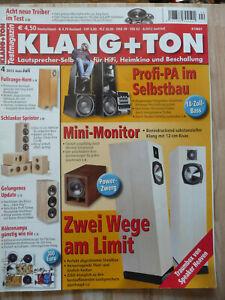 Klang & Ton 4/2012,  Inhaltsverzeichniss siehe Foto