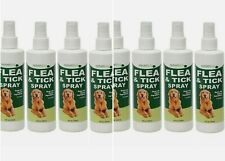 8 Nature's Best Dog Flea & Tick Spray Itch Relief Natural Ingredients Each 8 oz