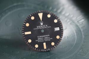 Rolex Vintage Submariner MK1 1680 Matte Black Dial FCD11700