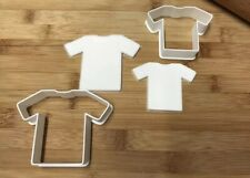 Football/T Shirt Cookie Cutters Set of 2, Biscuit, Pastry, Fondant, Bread Cutter