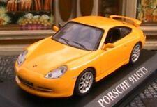 PORSCHE 911 996 GT3 JAUNE 1/43 VOITURE REVE YELLOW GELB NEW GALLIA