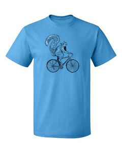 Squirrel Riding Bike Men's T-shirt All Occasion tee