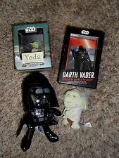 STAR WARS Darth Vader & Yoda Lot - Figures, Books, Plush
