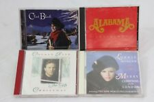 Christmas CD Music 4 pc Lorrie Morgan Collin Raye Clint Black Alabama