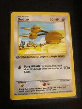1999 Wizards 1st edition Doduo 48/102 pokemon