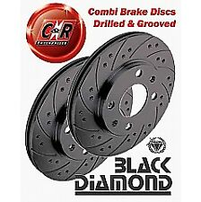 Seat Arosa 6H 1.4 2/97on Black Diamond Combi Front Discs KBD 756C