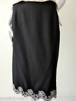 Jayson Brunsdon Skirt Size 10 - 12  US 6 - 8 Black  Wool  rrp $459.00