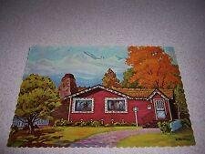 1970s THE APPLE TREE FOLKS DINNER HOUSE DENVER COLORADO VTG POSTCARD