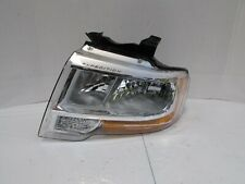 2015 2016 2017 FORD EXPEDITION OEM LEFT WITHOUT PROJECTOR CHROME HEADLIGHT R6