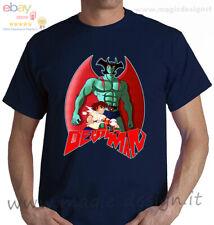 tshirt devilman manga Gō Nagai  Akira Fudo cartoon anni 80 t-shirt uomo bambino
