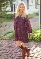 Matilda Jane Local Luxuries Dress Size XS X Small In Bag Boho Crochet Womens