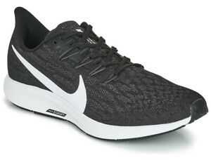 Nike Air Zoom Pegasus 36 Trainers Running Sports Gym Shoes New UK 4.5 Black