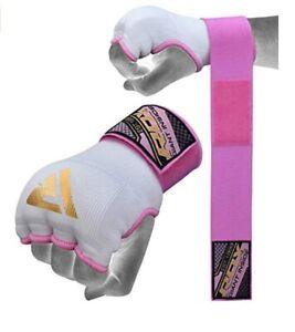 RDX Hand Wraps Ladies Training Boxing Inner Gloves medium pink
