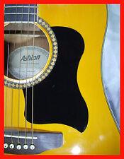 Guitarra Acústica Pickguard/Scratchplate Autoadhesivo Negro Rasguño Placa grandes
