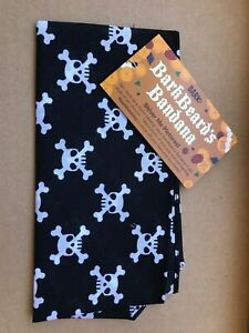 Barkbox BarkBeard's Skull and Crossbones Pirate Dog Bandana