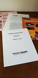Telex OMNI DX-88 Antenna Ham Radio Documentation  + Brochures