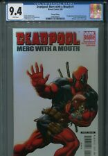 Deadpool Merc with a Mouth 1 CGC 9.4 Ed McGuinness variant Uncanny X-Force X-men