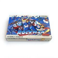 ROCKMAN 2 Mega man - Empty box replacement spare case with tray Capcom Famicom