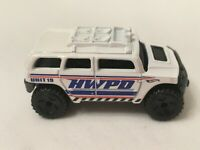 Hot Wheels Rockster Police Pursuit 2016 Hummer Loose Car Toy No Windows