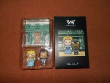Loot Crate WestWorld Dolores and Arnold Artist Series Super Emo Friends New