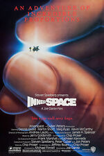 INNERSPACE (1987) ORIGINAL MOVIE POSTER  -  ROLLED