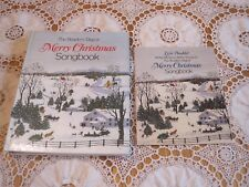 Reader's Digest MERRY CHRISTMAS SONGBOOK + LYRIC BOOK 1981 1st Edition HC Spiral