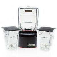 Blendtec Commercial STEALTH 885 Blender - With Two FourSide Jars & Soft Lids