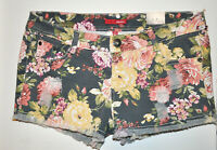 Details about  /Pretty Cream Floral Chochet pull on Hippie Short Shorts M-L New Summer Festival