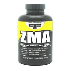 Primaforce ZMA 180 caps Sleep, Lean Muscle Support - SALE